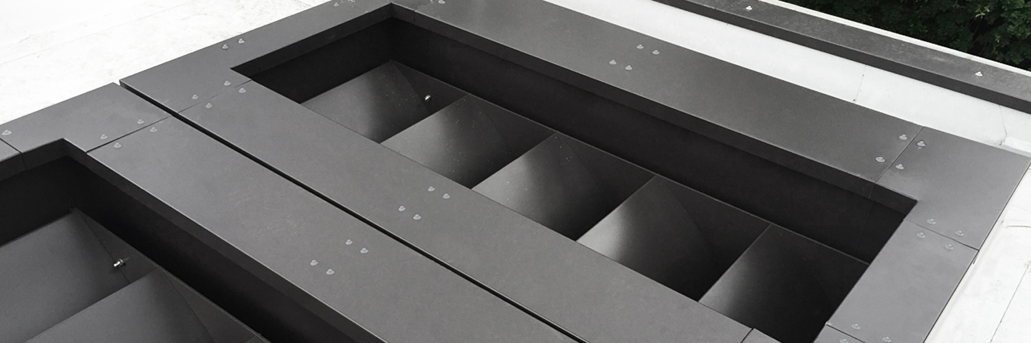 Aluminium Parapet Wall Cappings