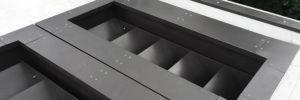 Aluminium Parapet Wall Cappings