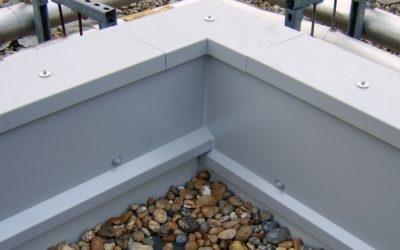 Aluminium Wall Capping Corner