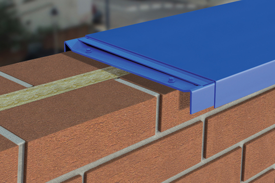 Click Fix Coping Metal Coping For Parapet Walls Ali Fabs